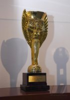Coupe Jules Rimet im Home of FIFA